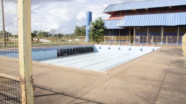 Neste primeiro momento, serão priorizadas as obras do complexo aquático que está interditado desde 2014