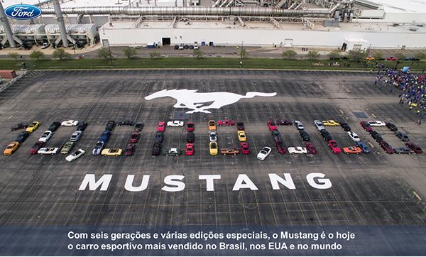 """No Brasil, o """"muscle car"""" já somou 700 unidades vendidas em seis meses de lançamento, que representam nada menos que 96% da categoria."""