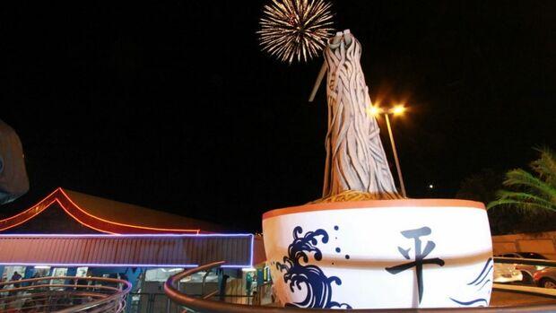 """O prefeito Marquinhos Trad ressaltou que o encontro anual de celebração do Sobá """"é para toda a cidade e preparado por muitas mãos""""."""