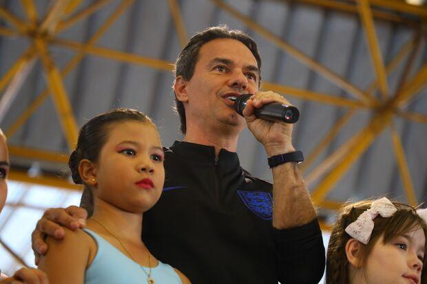 O prefeito Marquinhos Trad.