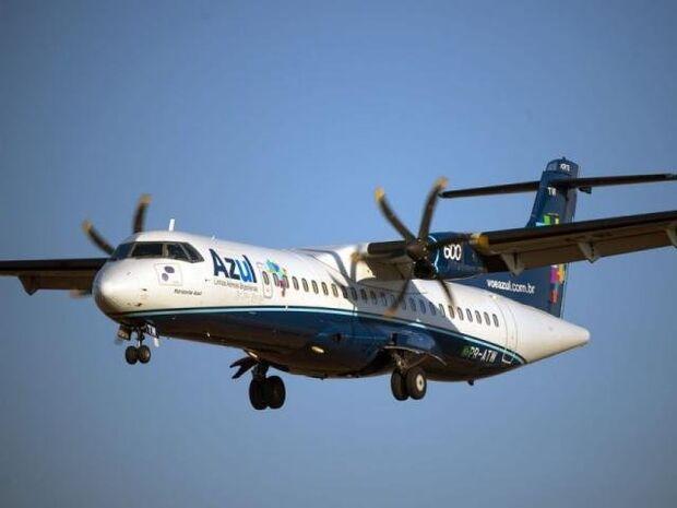Aeronaves AT 72-600, com capacidade para até 70 passageiros, vão operar rota direta entre Campo Grande e Foz do Iguaçu