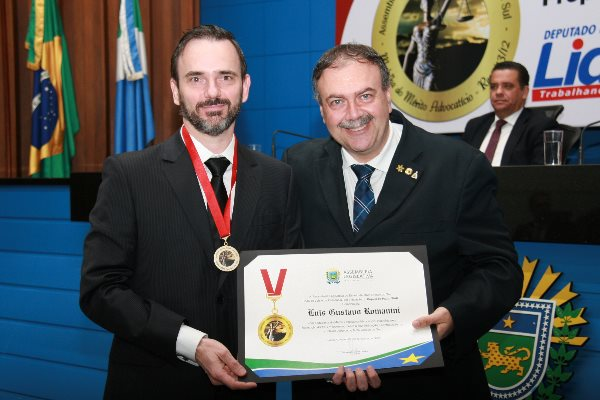 Luis Gustavo Romanini é graduado em Direito pela UCDB e pós-graduado pelo INPG.