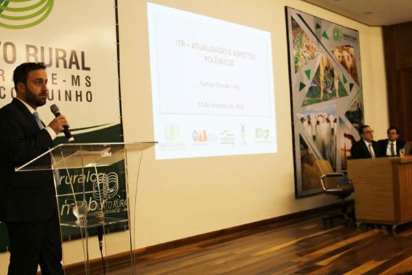 Advogado Diego Trindade alerta proprietários rurais que houve uma mudança no panorama do imposto com os convênios firmados com as Prefeituras
