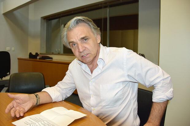 Empresário Claudio Cavol, presidente da Três Américas Transporte e do SetLog/MS