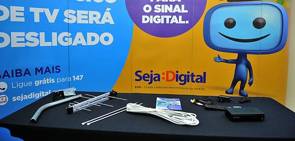 O desligamento do sinal analógico em Campo Grande e Terenos já começou.