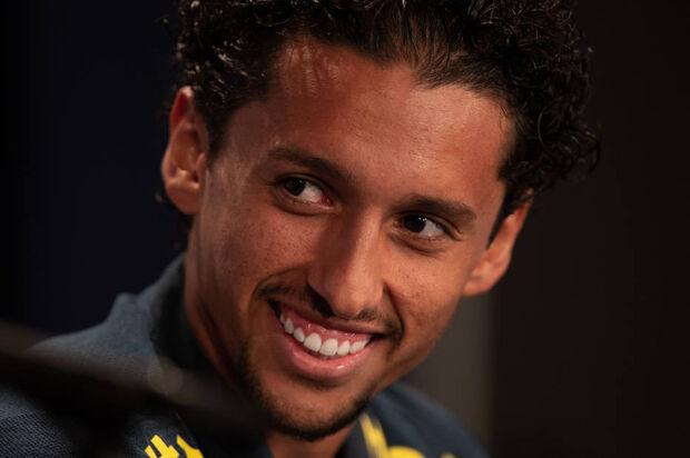Marquinhos, jogador do Paris Saint-Germain