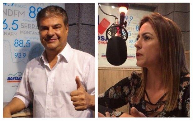 A advogada Soraya, embalada pela onda 'bolsonarista' em MS, e o ex-prefeito Nelsinho são os senadores eleitos
