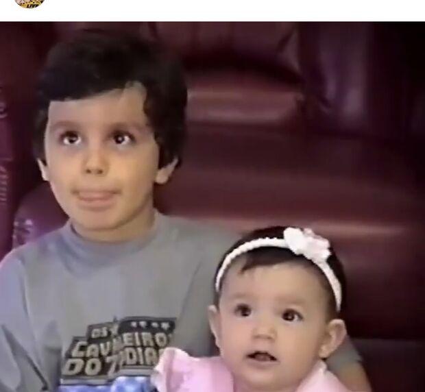 Luan Santana também usou o perfil oficial no Instagram para fazer uma homenagem às crianças