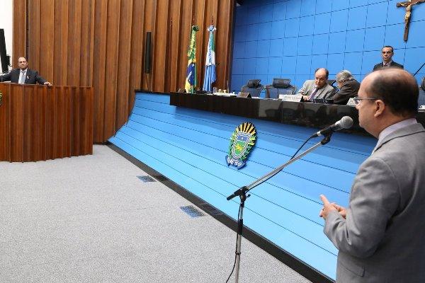 Zé Teixeira (DEM) foi o primeiro a ocupar a tribuna da Assembleia Legislativa durante a sessão desta quinta-feira (8), para parabenizar a nova ministra anunciada ontem