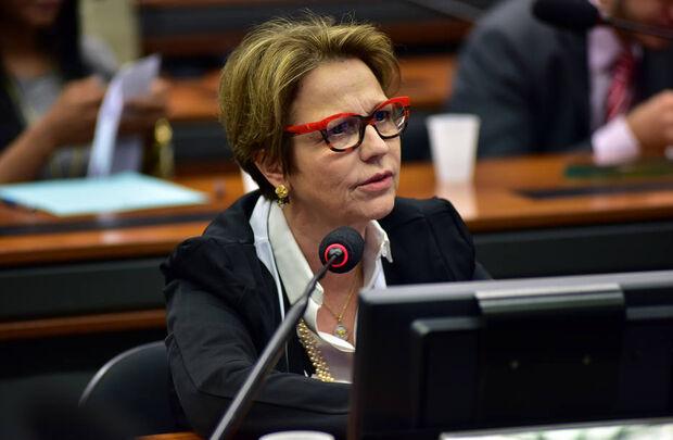 Deputada não vê conflito de interesse em assumir a pasta da Agricultura e manter negócios com a JBS.