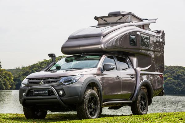 Veículo une a força e resistência da picape que tem o DNA 4x4 da Mitsubishi Motors com a Duaron, referência na fabricação de trailers