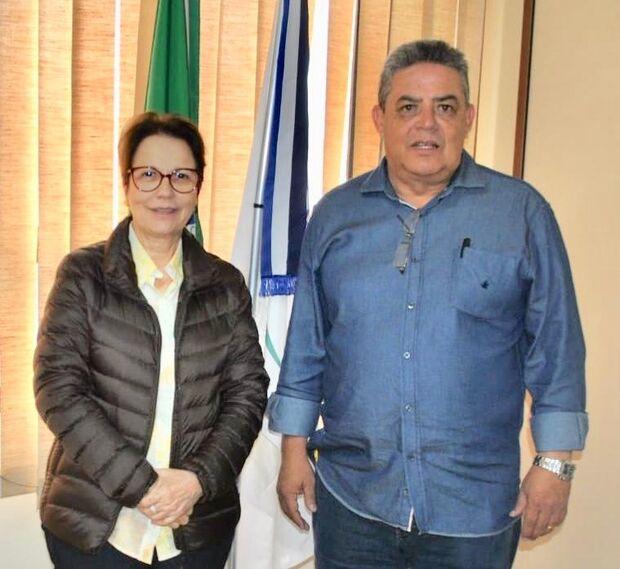 """De acordo com Marco Aurélio, a Funasa se desenvolveu consideravelmente depois que Tereza Cristina foi para Brasília. """"Tínhamos um orçamento de R$ 2,730 milhões há dois anos e saltamos para R$ 128,9 milhões, atendendo a 52 municípios"""" -  comemorou"""