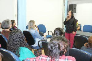 A titular da Sedhast, Elisa Cleia Nobre, realizou a abertura da palestra ressaltando a importância do tema
