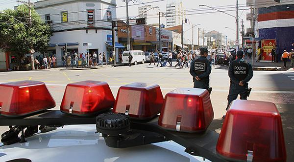 Os locais escolhidos foram definidos por meio de levantamentos estatísticos realizados pelas forças policiais
