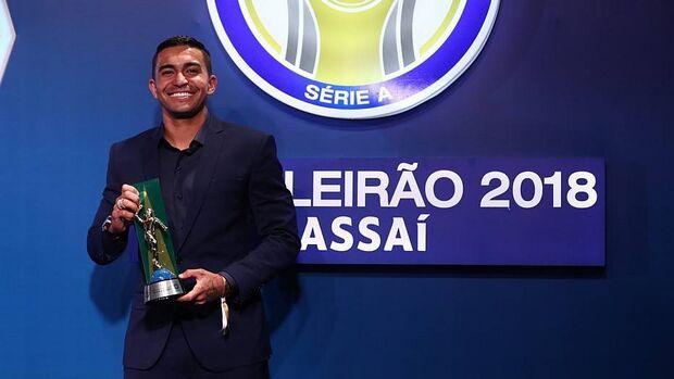 Dudu é eleito o craque do Brasileirão