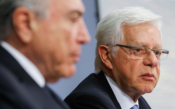 O ministro de Minas e Energia, Moreira Franco