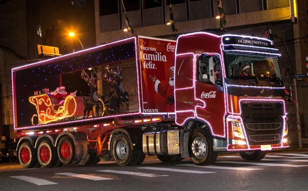 A Caravana de Natal percorre 42 cidades do Brasil