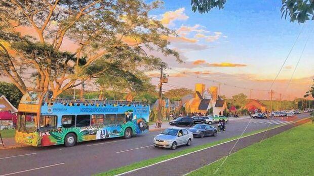 Cada passeio terá cerca de 40 minutos e todos serão orientados por guias de turismo