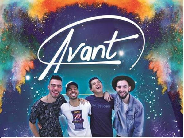 """No sábado, 15, é a vez da Banda Avant levar ao público seu pop rock. Formada por quatro integrantes a Banda Avant lançou em setembro de 2017 o clipe da primeira música autoral """"Sonhando com você""""."""