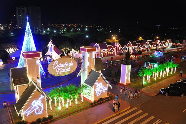 A abertura da Cidade do Natal é uma das atrações desse final de semana