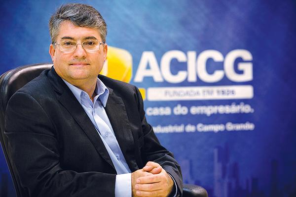 O empresário Joao Carlos Polidoro da Silva está otimista para as vendas de Natal deste ano na Capital