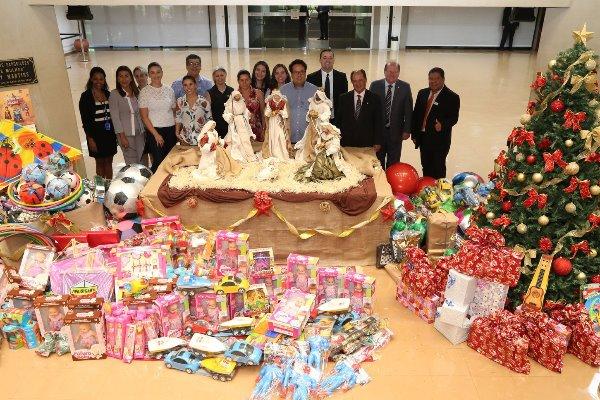 Foram mais de 500 brinquedos doados pelos servidores da Assembleia Legislativa