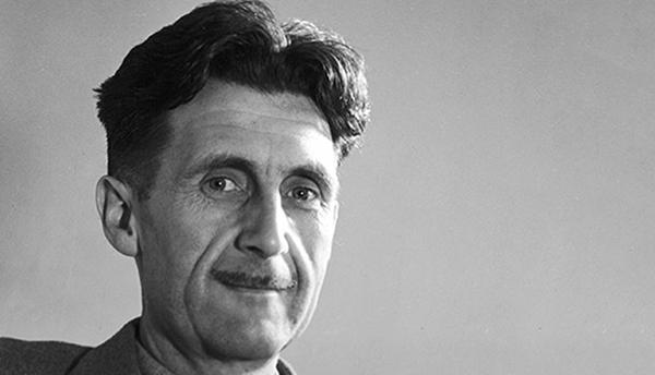 George Orwell é autor de obras como A Revolução dos Bichos e 1984