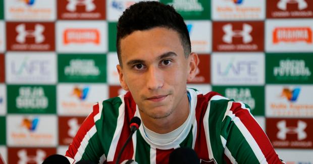 Dodi chegou ao Fluminense no ano passado, contratado junto Criciúma