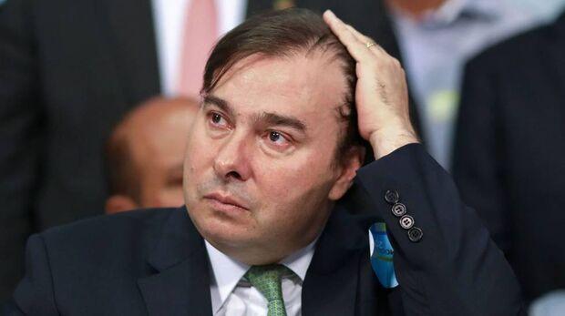 Maia recebeu apoio formal do PSL, partido do presidente Bolsonaro, na disputa pela Presidência da Câmara dos Deputados no começo do mês