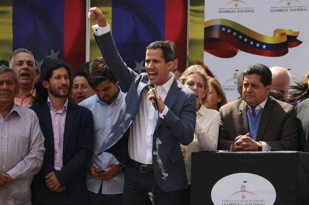 Juan Guaidó/Redes Sociais/Direitos Reservados