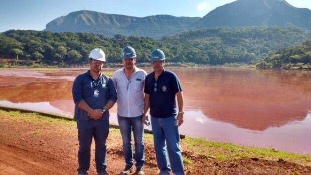 Foram fiscalizadas 10 barragens e bacias de rejeitos de minério de ferro e manganês