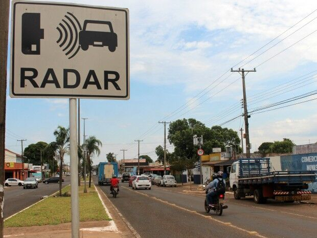 Os radares estão funcionando em caráter educativo