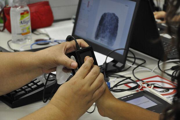 A biometria é uma tecnologia que dá ainda mais segurança à identificação do eleitor no momento da votação