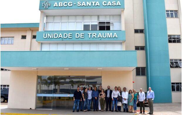 Técnicos do Ministério da Saúde, SES e Sesau realizaram vistoria na Unidade do Trauma