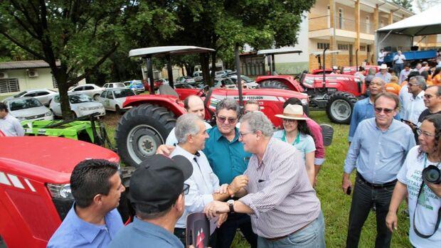 Para o subprefeito de Anhanduí, Ernesto Francisco dos Santos, os equipamentos vão melhorar as condições de trabalho dos agricultores de Anhandu
