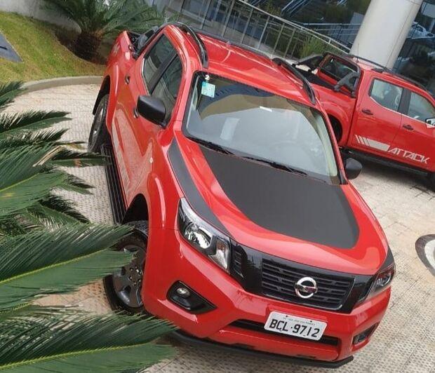 Conhecemos De Perto A Nova Nissan Frontier Attack 2019 A Critica