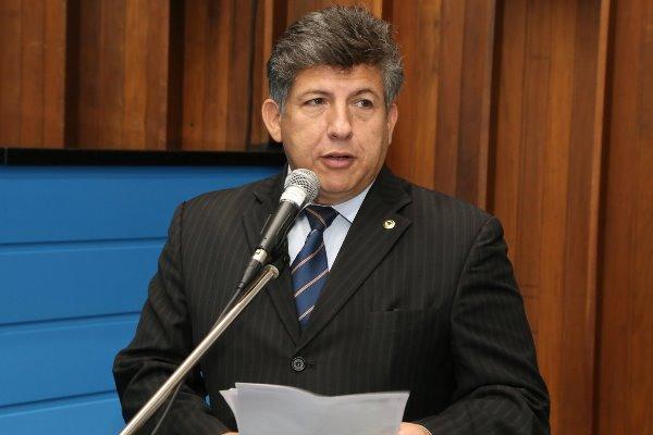 Deputado Lidio Lopes durante a sessão ordinária desta terça-feira