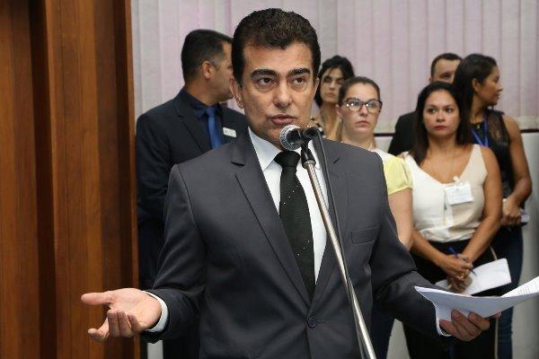 Deputado Marçal Filho (PSDB), proponente da reunião desta quarta-feira