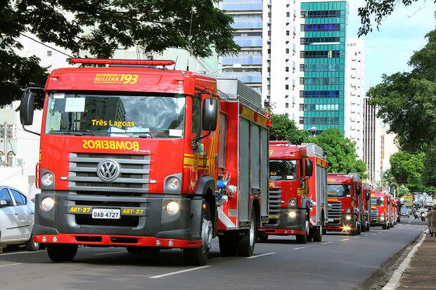 Também foram registradas 18.833 atividades de prevenção de incêndio e pânico, além de 710 atendimentos de incêndio