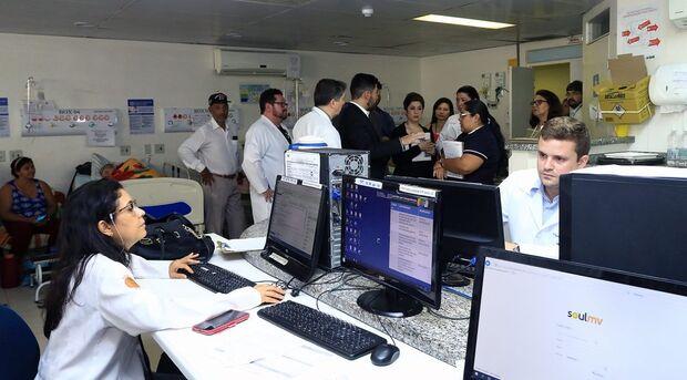"""""""O Hospital Regional de Mato Grosso do Sul tem muitos pontos positivos, além de uma equipe engajada e ansiosa pela chegada deste Projeto. Há cem por cento de possibilidade do projeto ser bem-sucedido, porque vemos uma vontade enorme do secretário e do gov"""