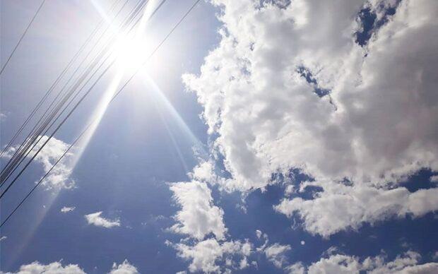 Máxima de 28ºC e mínima de 17ºC no neste sábado (23.3). No domingo o cenário não muda, máxima de 31ºC e mínima de 17ºC, sem possibilidade de chuva também