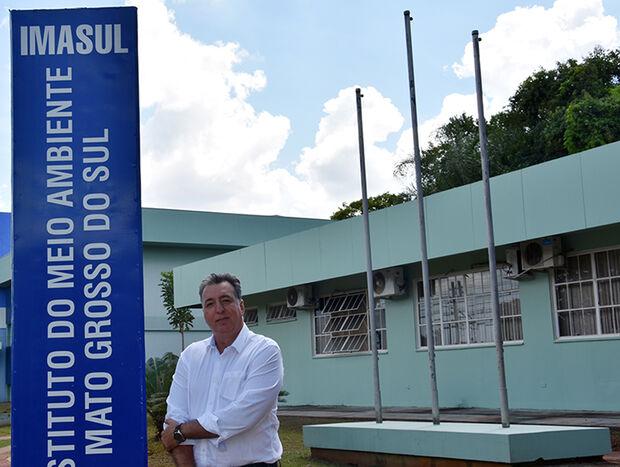Na conversa, ele destacou que, na sua gestão, o Imasul deixou o 26º lugar no ranking de eficiência e agilidade dos órgãos ambientais do Brasil para ocupar o 2º