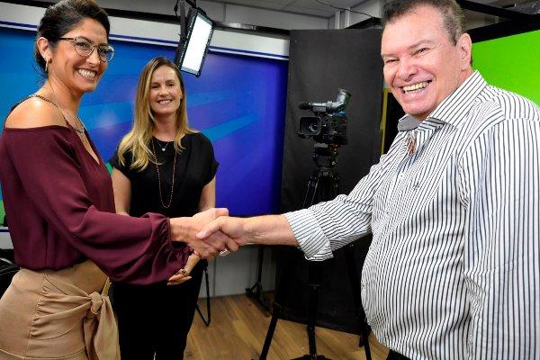 Termo de cooperação permitirá o conhecimento real das funções da PGE-MS em programa da TV ALMS