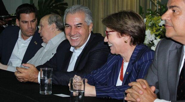 Realizada no Parque Laucídio Coelho, a abertura da Exposição Agropecuária de Campo Grande, uma das maiores do Centro-Oeste, reuniu os ministros Tereza Cristina (Agricultura) e Gustavo Canuto (Desenvolvimento Regional)