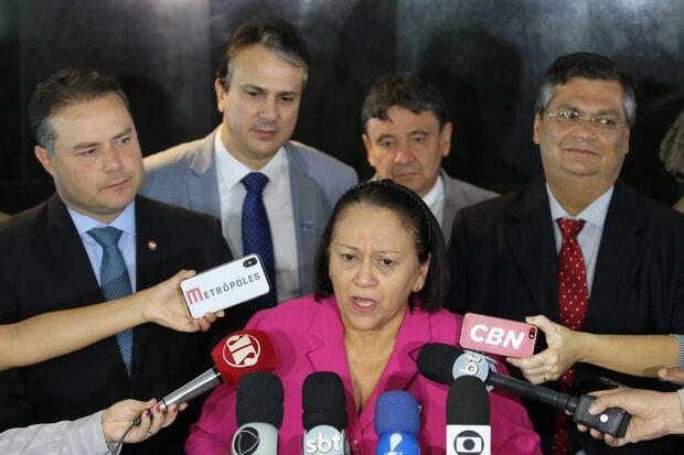 Resultado de imagem para Governadores do Nordeste pedem revisão de cortes