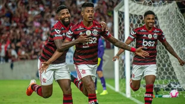 Gol de Bruno Henrique no começo do jogo deu tranquilidade ao Flamengo contra o Fluminense
