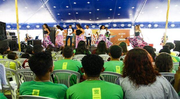 O Festival América do Sul Pantanal recebeu apresentações das escolas públicas de Corumbá e Ladário
