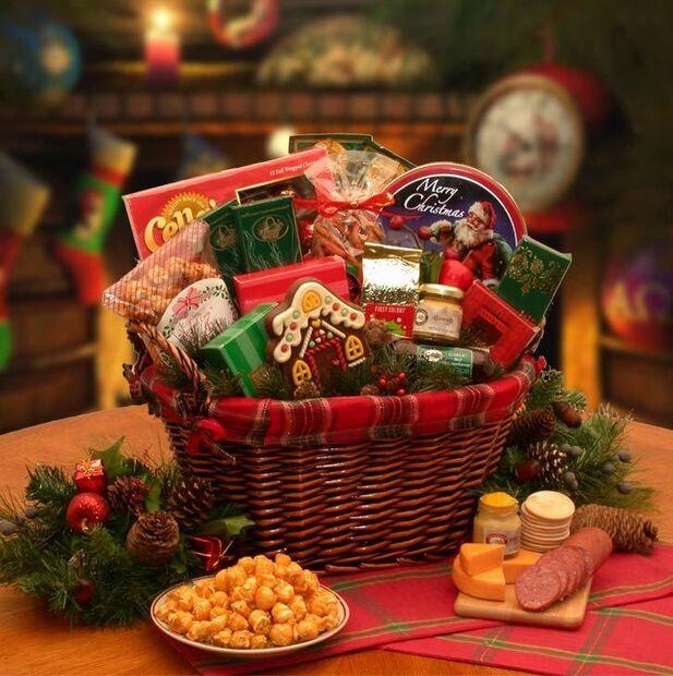 As cestas natalinas despontam na preferência de quem procura por praticidade e menor preço