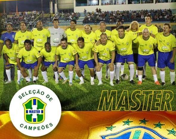eed94361a7c60 Seleção Brasileira de Master fará apresentação em Coxim em Setembro ...