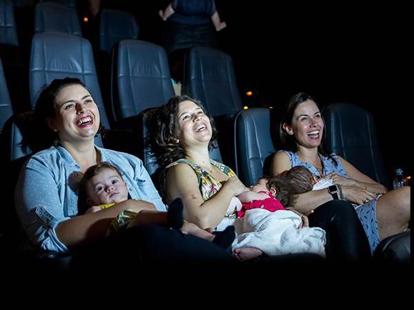 As sessões CineMaterna são programadas especialmente para que as mães e  seus bebês de até um 0a4138036d